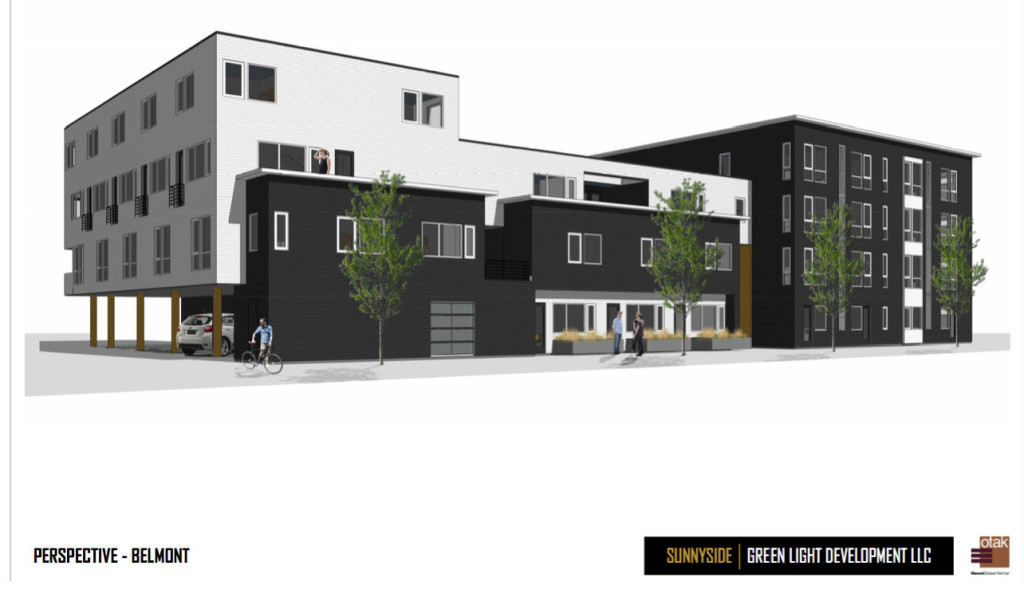 Rendering posted on Clear Light Neighborhood Coalition - Sunnyside